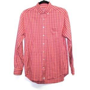 Vineyard Vines plaid Murray button down shirt